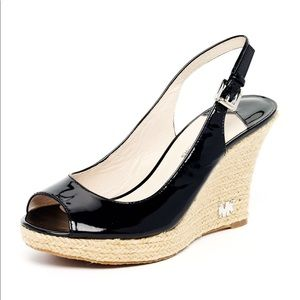 Michael Kors black Kami espadrille sandal